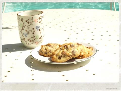 Cookies bananes chocolat