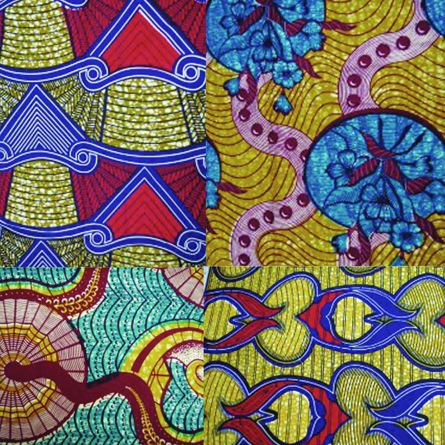 tissu africain sur paris