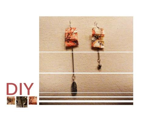 Boucles d'oreille DIY Akordeonia