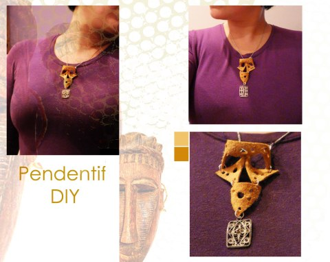 Collier DIY inspiration tribale