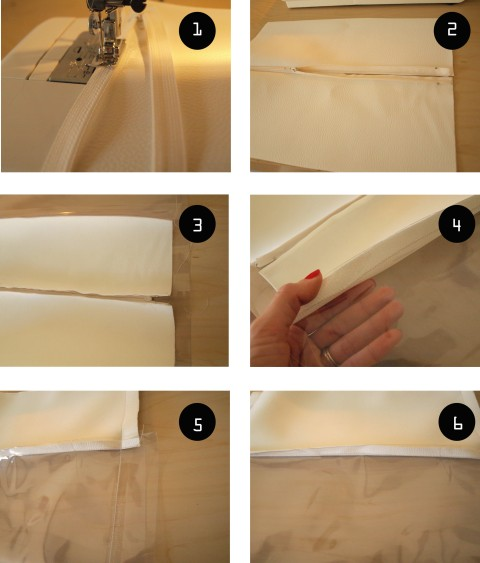 TUTORIAL DIY POCHETTE TRANSPARENTE copy