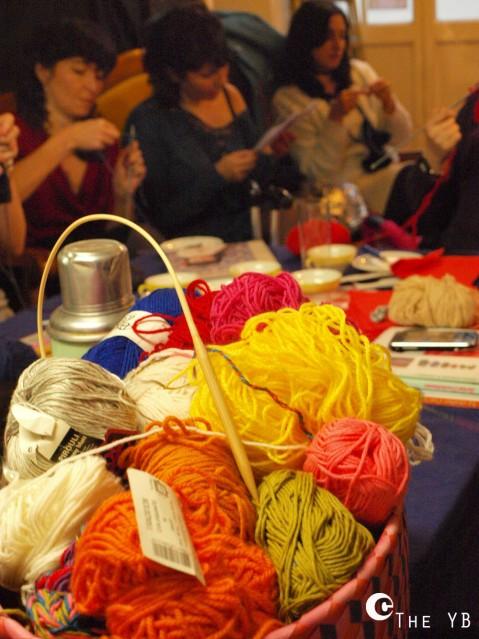Goûter-tricot à l'Atelier du loisir
