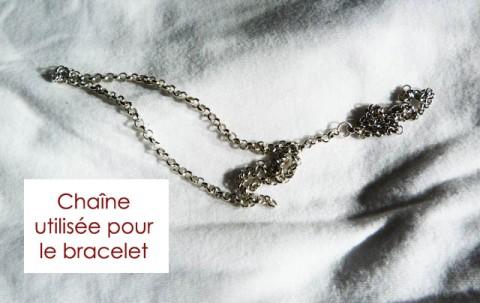 Chaîne épaisse bracelet