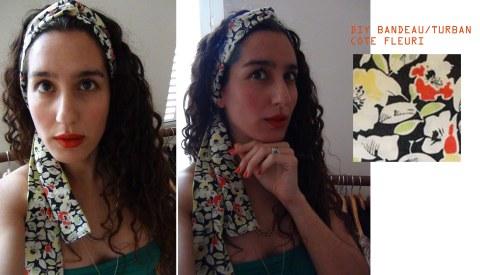 DIY bandeau COTE fleuri  copy