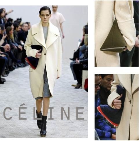 CLUTCH CÉLINE INSPIRATION