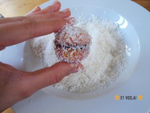 gateau Boule coco marocain home made