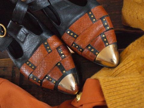 LOOOK#4 vide dressing des blogueuses chaussures vint