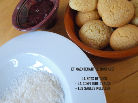 montage boule coco marocain home made