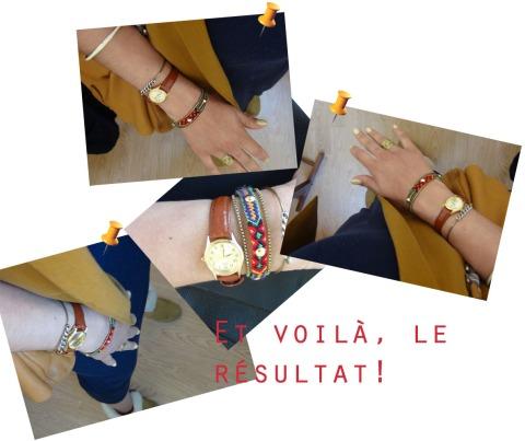 diy bracelet brésilien et chaines