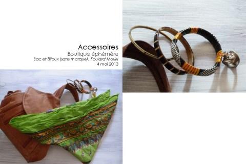 Accessoires (Bijoux, Sac, Foulard Moki)