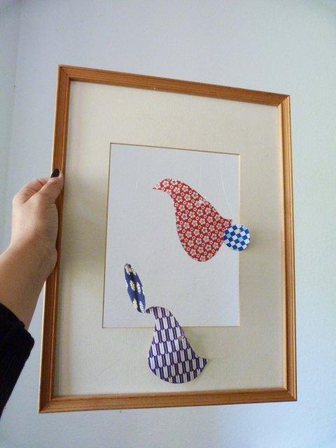 DIY Tableau oiseaux