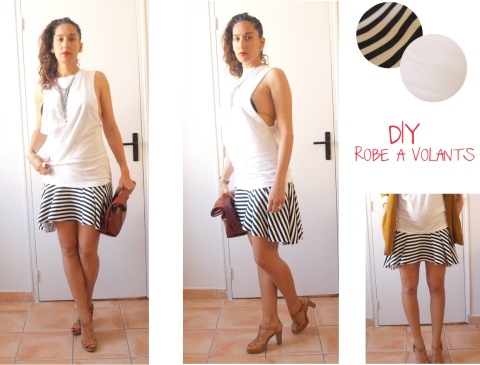 robe a volants DIY