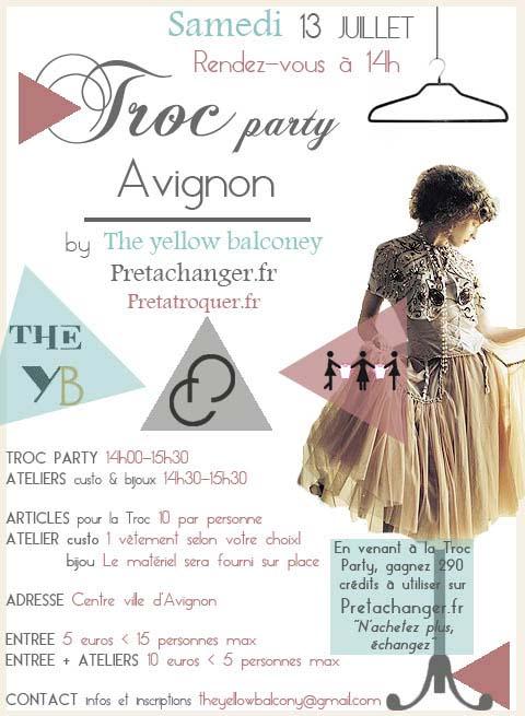 Troc juillet Avignon