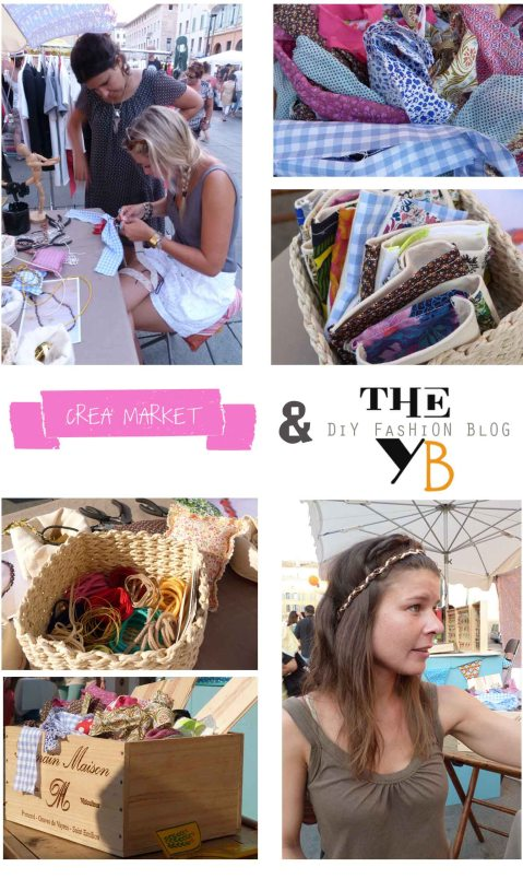 ATELIER DIY THE YB AU CREA MARKET