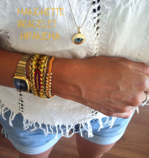 MANCHETTE BRACELET HIPANEMA copy