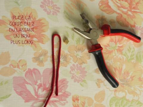 DIY Bracelet corde