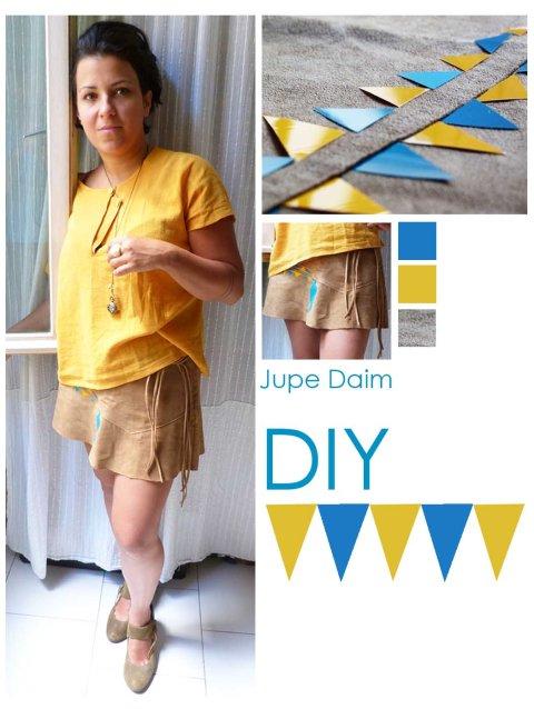 Jupe Daim DIY