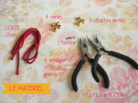 MATOS DIY Bracelet corde