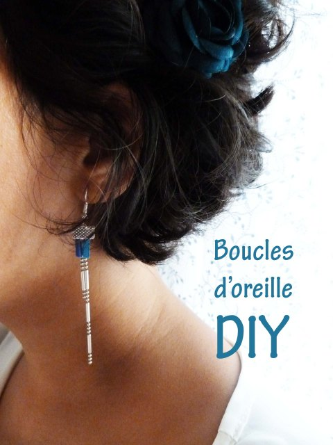 Inspirations the yellow balconey - Diy boucle d oreille ...