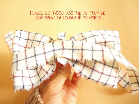 DIY DOUBLE NOEUD PAPILLON 1