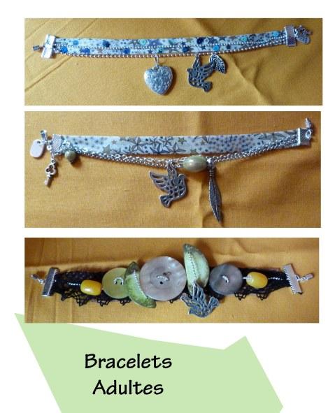 Bracelets adultes