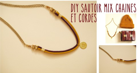 DIY COLLIER SAUTOIR