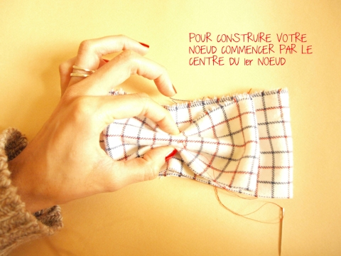 DIY NOEUD PAPILLON 5