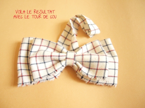 DIY NOEUD PAPILLON 3