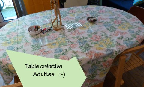 Table adultes