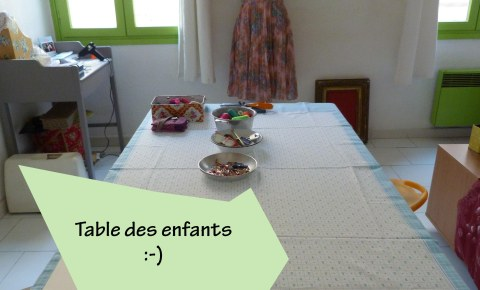 Table enfants