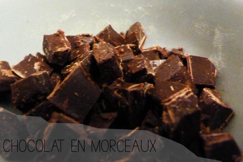 Chocolat morceaux