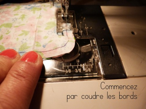 Couture bords
