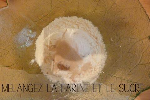 Farine et sucre
