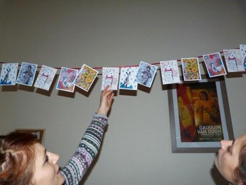 Marion et frise cartes postales