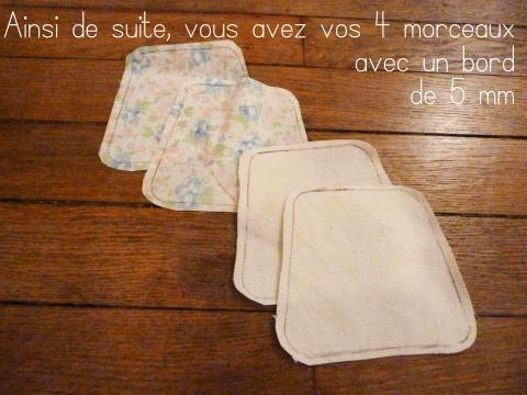 Morceaux tissus